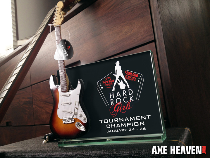 Seminole Hard Rock Hotel and Casino Award Plaque/Trophy by AXE HEAVEN®