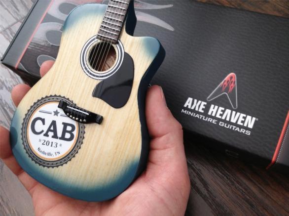 CAB 2013 Nashville, TN Custom Miniature Guitar