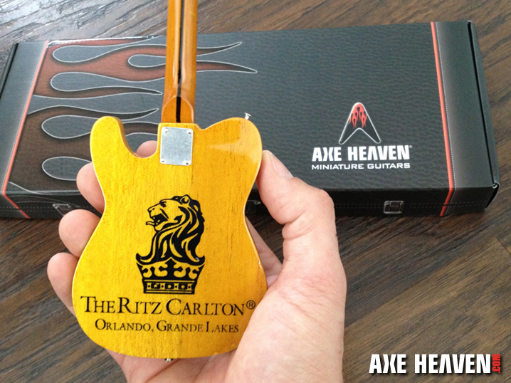 The Ritz-Carlton Orlando Miniature Guitars from AXE HEAVEN®