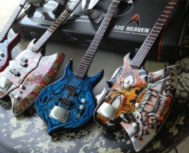 Gentry Riley Custom Miniature Guitar Replicas by AXE HEAVEN®