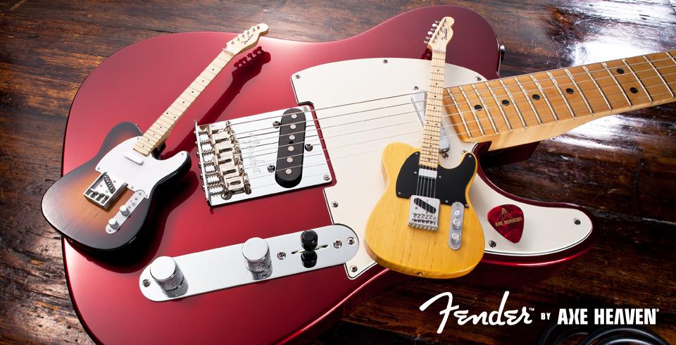 Jeff Beck Vintage Esquire Telecaster Guitar Miniature AXE HEAVEN FT-010
