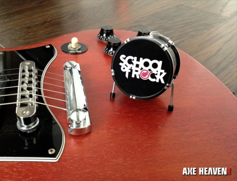 School of Rock Miniature Drum Promotional Ornament by AXE HEAVEN®