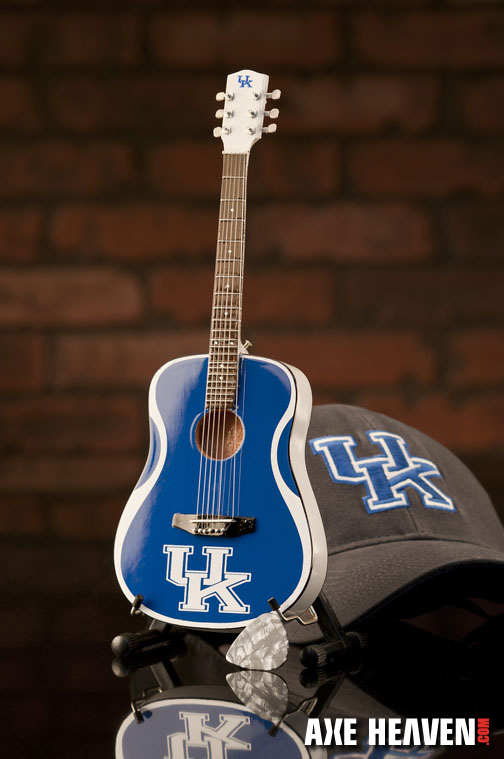 University of Kentucky Wildcats Miniature Guitar Replica Collectible