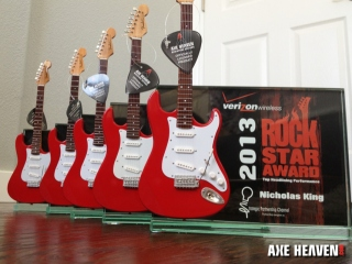 Verizon 2013 Custom Rock Star Trophy / Award