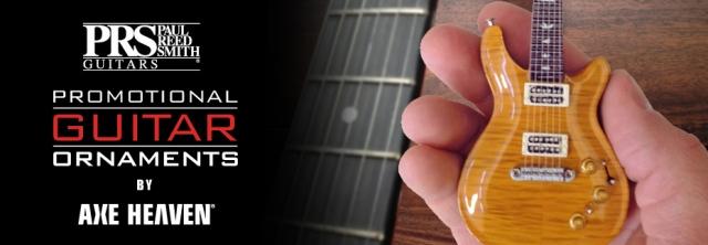 Hard Rock Cafe Toronto Custom Promotional Miniature Guitar by AXE HEAVEN®
