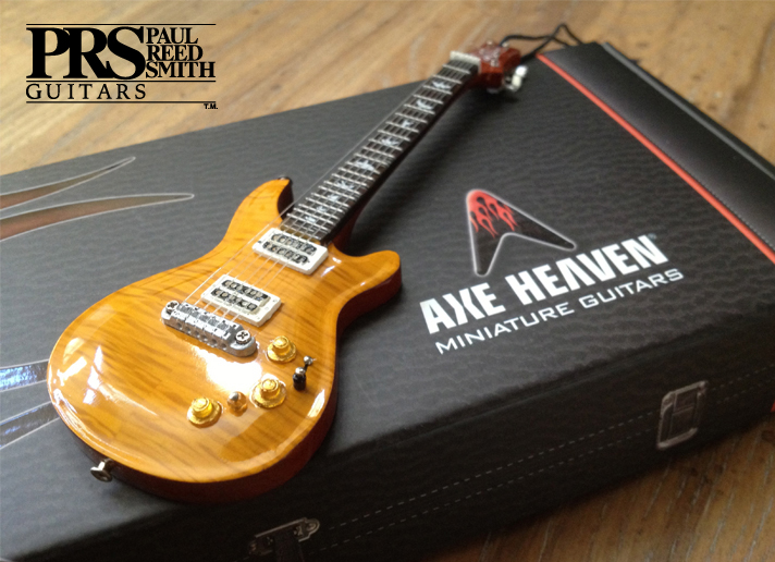 Handmade Paul Reed Smith Guitar Ornaments Available In The