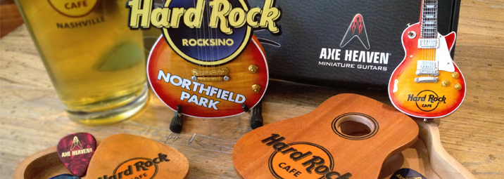 Hard Rock Cafe Toronto Custom Promotional Merchandise by AXE HEAVEN®