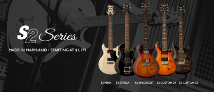 Paul Reed Smith Guitars S2 Series