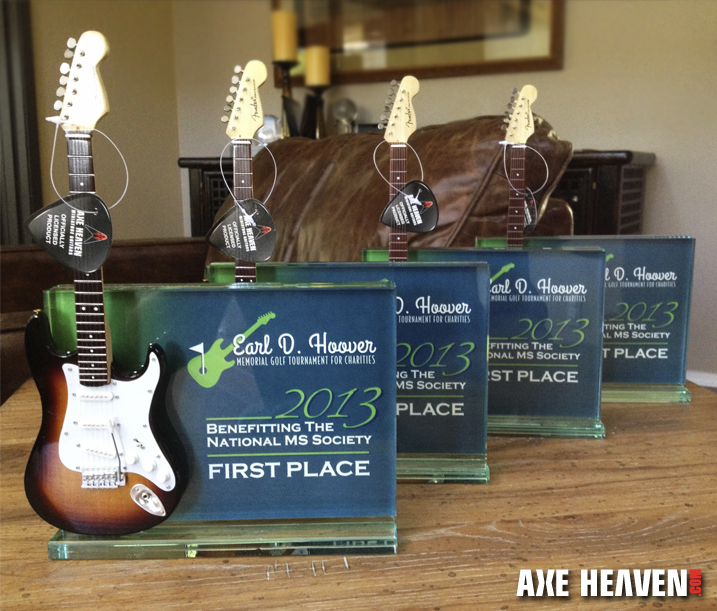 EDH_Golf Tournament_Guitar Award_1