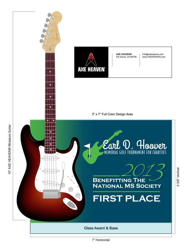 EDH_Golf Tournament_Guitar Award_3