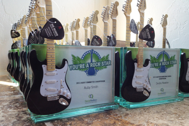 "FloridaRealtors ""You're a Rock Star"" Award"