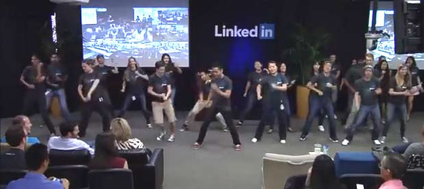 Having Fun at LinkedIn
