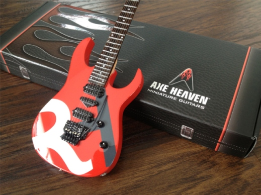 Raffetto Herman PR Custom Promotional Miniature Guitar by AXE HEAVEN®