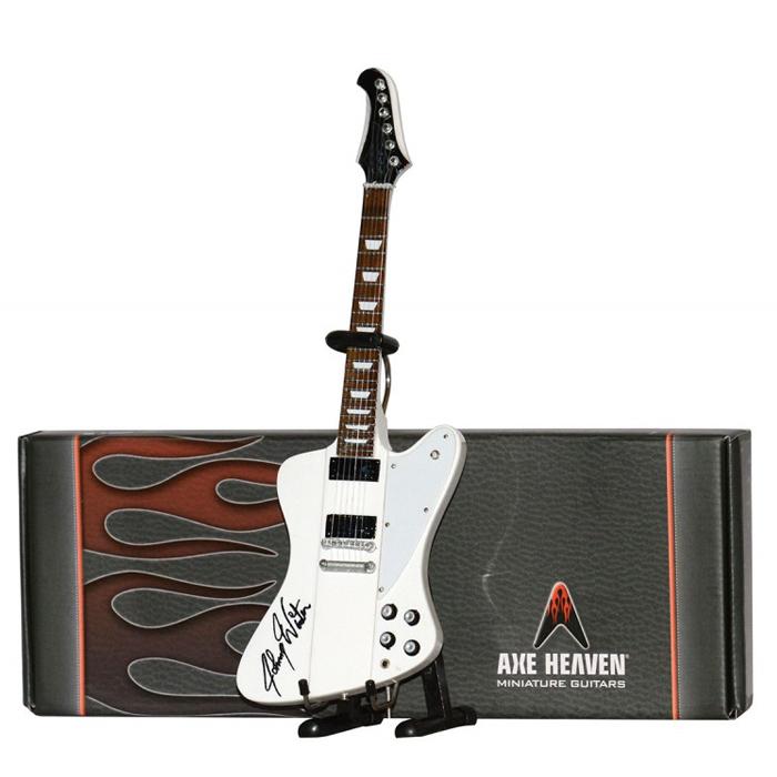 JW-159 Axe Heaven Johnny Winter Signature 1//4 scale Miniature Guitar