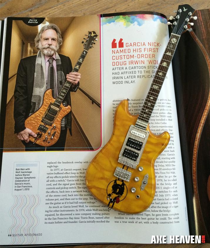 Jerry Garcia S Mini Guitars Tales Of The Wolf Rosebud