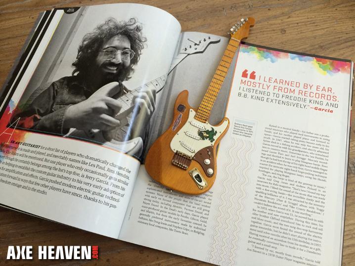 Jerry Garcias Mini Guitars Tales Of The Wolf Rosebud Alligator