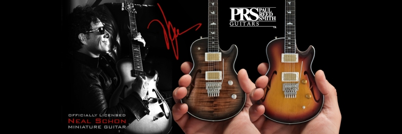 Neal Schon Paul Reed Smith PRS Miniature Guitar Model