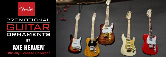 Fender™ Guitar Ornaments by AXE HEAVEN®