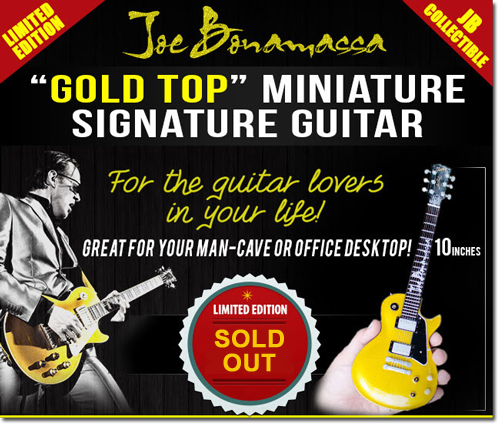 Joe Bonamassa Play His Goldtop Guitar