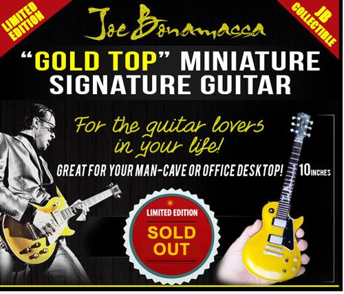 Joe Bonamassa Play His Goldtop Guitar