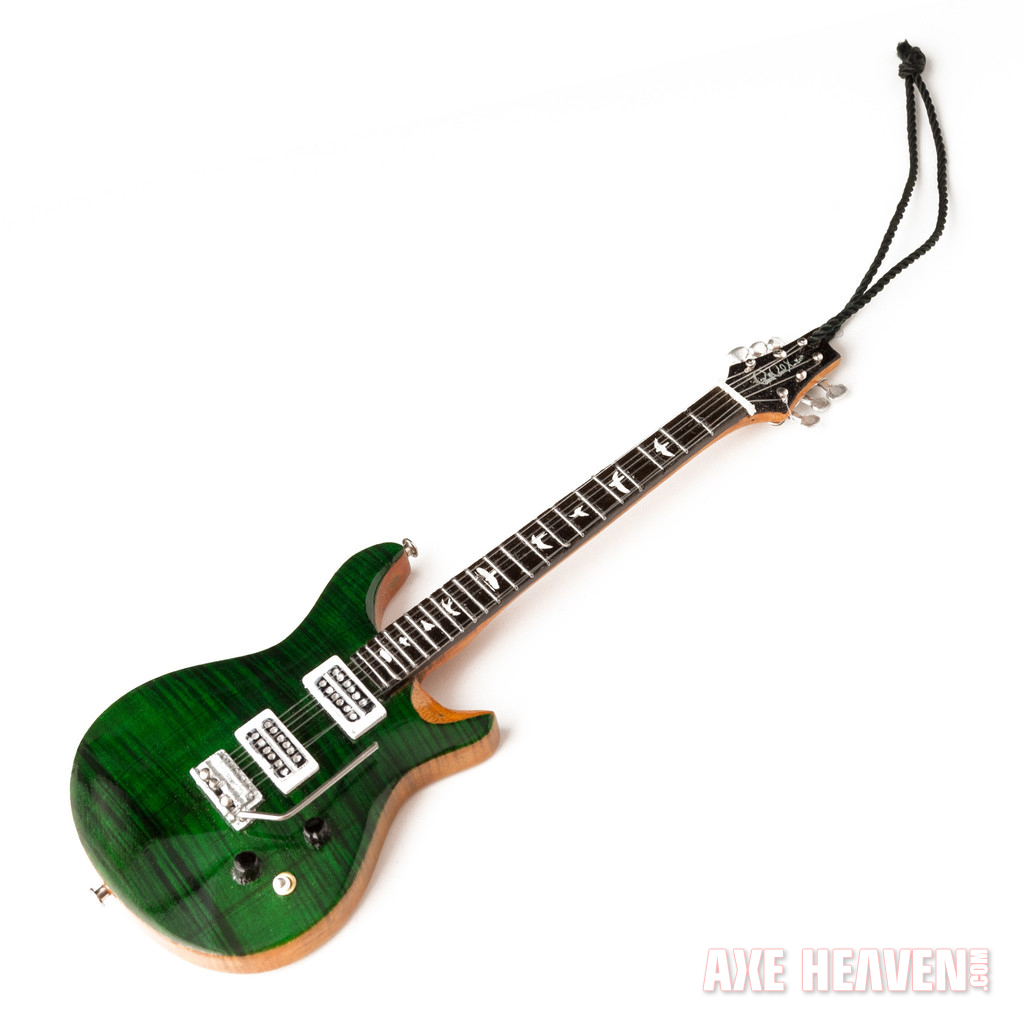 2014 PRS Emerald Green Guitar Ornament by AXE HEAVEN – AXE HEAVEN ...