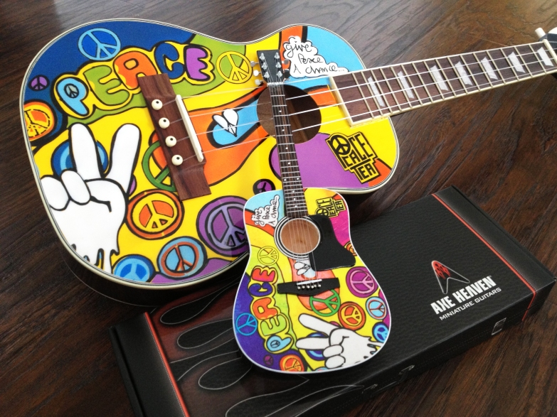 Peace Tea Uke by AXE HEAVEN