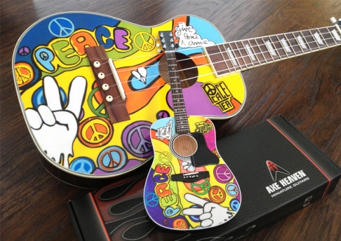 Peace Tea Mini Uke & Guitar Collection