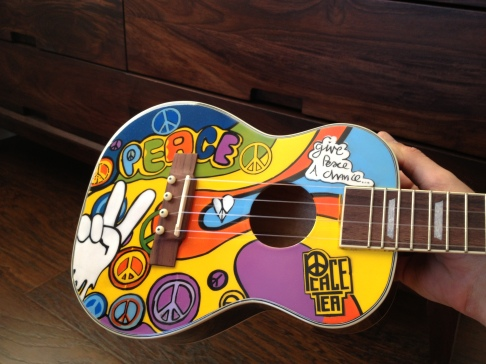Peace Tea Ukulele By AXE HEAVEN
