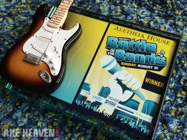 Corporate Battle of the Bands Fundraiser Winners Awards by AXE HEAVEN®
