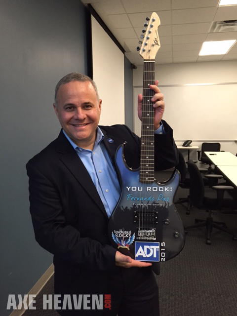 ADT Rockstar Award Promotional Electric Guitar