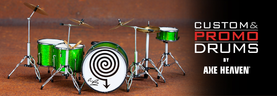 Promotional Miniature Drum Sets by AXE HEAVEN®