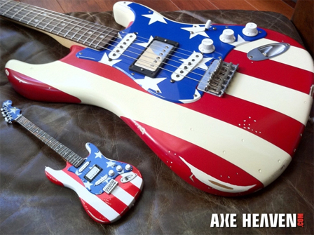 AXE HEAVEN® mini replicas are handcrafted from wood with all-metal tuning keys.