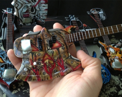 Gentry Riley Custom-Shaped Mini Guitar