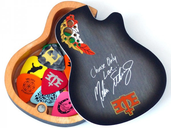 Promotional Musician Accessories: Melissa Etheridge Custom Pick Box