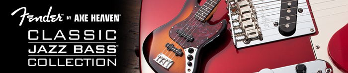 Fender™ Jazz Bass™ Miniature Guitars by AXE HEAVEN®