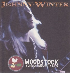 Johnny Winter at Woodstock