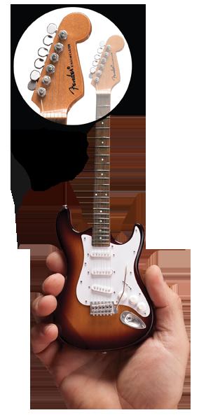 Miniature Guitar Replica of Famous Rock Star Guitars by Axe Heaven