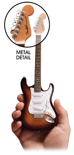 Miniature Guitar Replica of Famous Rock Star Guitars by Axe Heaven