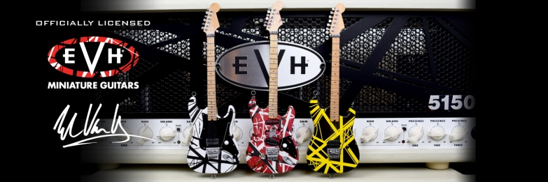 Officially Licensed EVH Miniature Guitars by AXE HEAVEN®