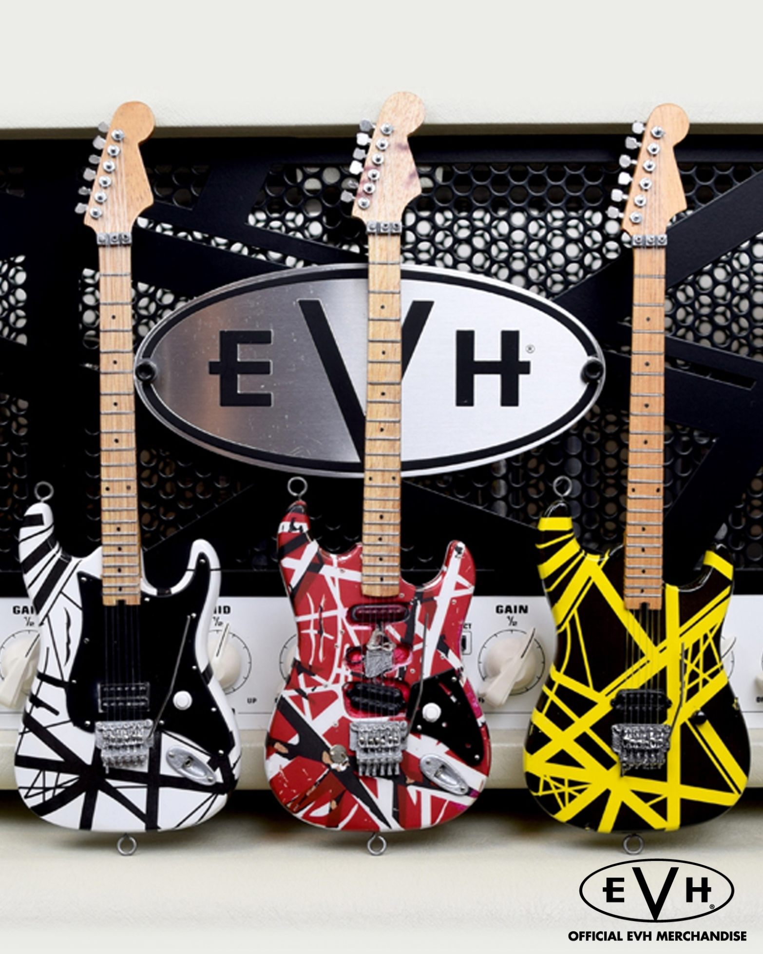 Officially Licensed EVH Mini Guitar Replicas by AXE HEAVEN®