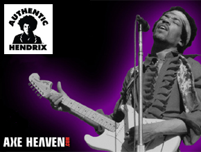 Officially Licensed Jimi Hendrix Miniature Guitars by AXE HEAVEN®