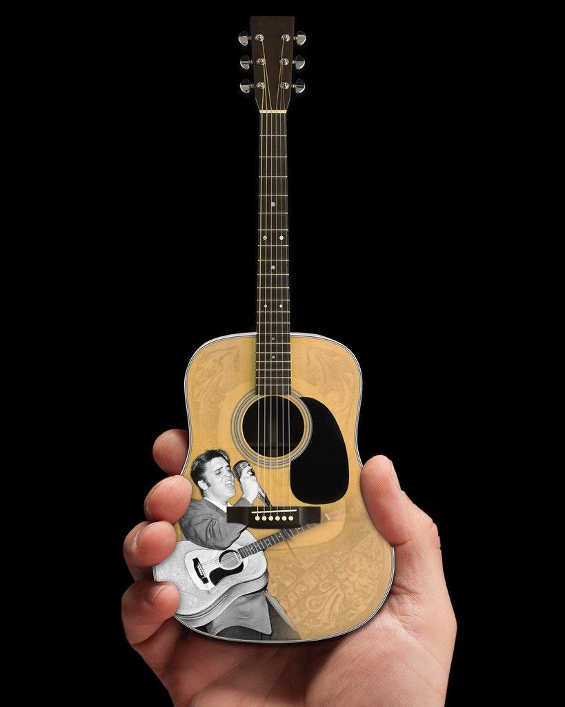 Officially Licensed Elvis Presley Tribute Mini Guitars