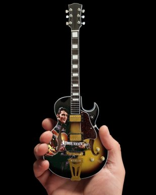 Elvis Presley 68' Special Hollow Body Mini Guitar – Officially Licensed