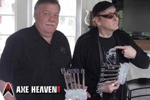 Buy Rick Nielsen Miniature Replica Guitars by AXE HEAVEN®.