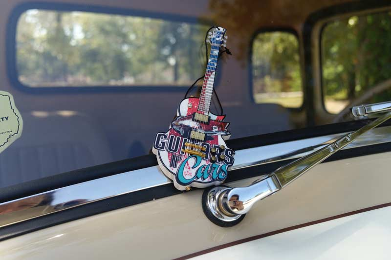 "Guitars N' Cars 6"" Custom Promo Mini Guitar Ornament by AXE HEAVEN®"