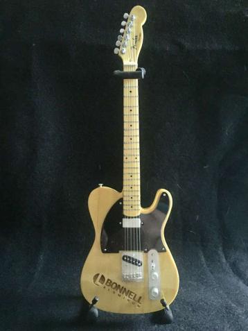 Laser Engraved Promo Mini Guitar - Fender™ Esquire Tele™ for Bonnell Aluminum