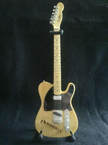 Laser Engraved Promo Mini Guitar - Fender™ Esquire Tele™ for Bonnell Aluminum