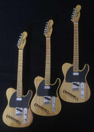 Laser Engraved Promotional Mini Guitars - Fender™ Esquire Telecaster™ for Bonnell Aluminum