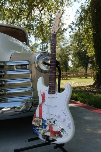 Real Fender™ Squier Strat™ Promo Guitar by AXE HEAVEN®