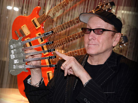 Rick Nielsen Custom Miniature 5-Neck Guitar